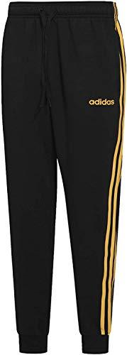adidas E 3S T PNT FL Sport Trousers, Hombre, Black/Active Gold, 2XLS