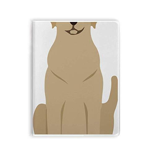 Caderno protetor animal para amantes de animais de estimação escravo capa diária capa macia