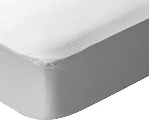 Pikolin Home – madrasskärm effekt, 100% bomull, snabb fukttransport och andas, 140 x 190/200 cm, säng 140