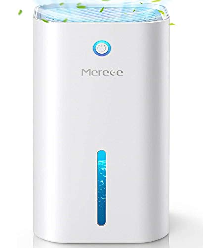 Dehumidifiers - 850ML(30 oz) Small Dehumidifiers for Home Bathroom Bedroom Room Closet Basements RV, 2200 Cubic Feet Electric Quiet Portable Mini Dehumidifiers with Auto-Off and LED Indicator