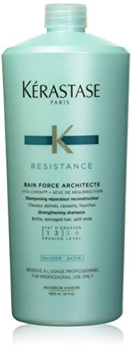 Calm Kerastase Shampoo Werkstatt Bain de Force Architecte 1L