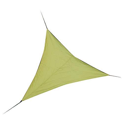 LIAWEI Toldo para jardín, impermeable, protección contra rayos UV, protección solar, toldo, pérgola, patio, interior (triángulo, 4 m)