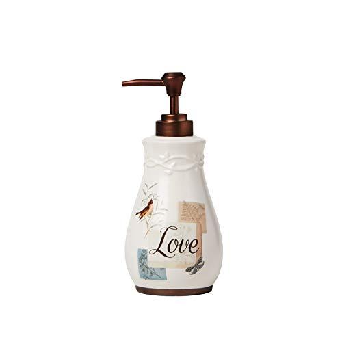 SKL Home by Saturday Knight Ltd. New Hope Lotion/Soap Dispenser, Cream