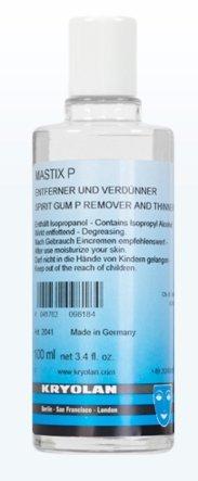 Price comparison product image Kryolan 2041 Spirit Gum Mastix P Remover & Thinner 100ml