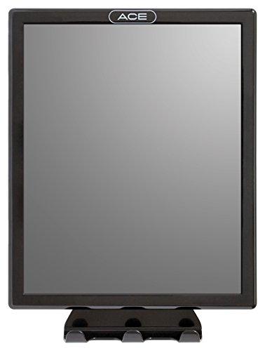 Ace Fog Resistant Shower Mirror, Black (1954984)
