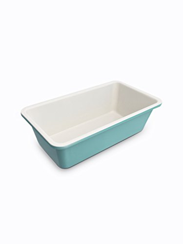GreenLife Non-Stick Loaf Pan, Turquoise by The Cookware Company