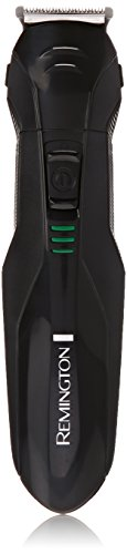 Remington PG6015A Rechargeable Stubble and Beard Trimmer, Black