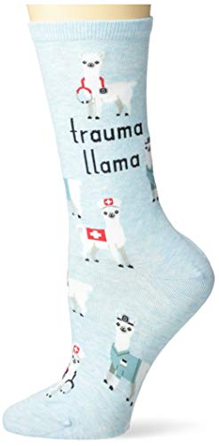 Hot Sox Damen HSW10165, MNTML, 090110 Socke, Trauma Lama (Mint Melange), Einheitsgröße