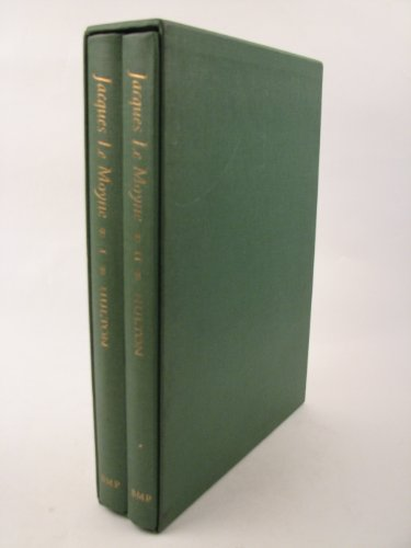 Price comparison product image The work of Jacques Le Moyne de Morgues: A Huguenot artist in France,  Florida,  and England (2-volume set in slipcase)