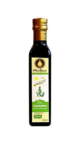 Leindotteröl frisch kalt gepresst 250 ml vom Hersteller, Samen aus dem Westerwald