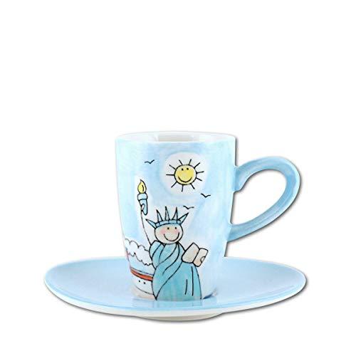 440s.de Mila Keramik Espresso-Tasse mit Untere, New York | MI-88005 | 4045303880054