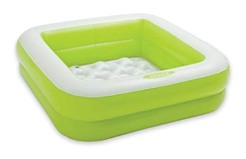Intex Babypool Play Box Pool, Mehrfarbig, 85 x 85 x 23 cm