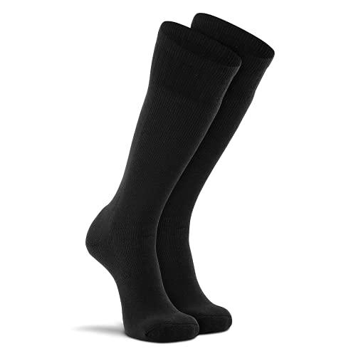 Fox River Wick Dry Socken für Herren, extra gepolstert, wadenhoch, für stickige & super bequeme Füße, Schwarz, Größe XL