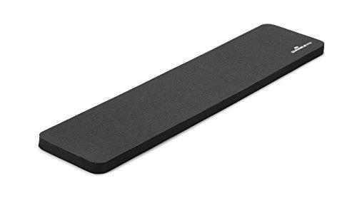 Durable 570458 Repose-poignets en mousse pour clavier PC Ordinateur 15 x 450 x 100 mm Gris Anthracite