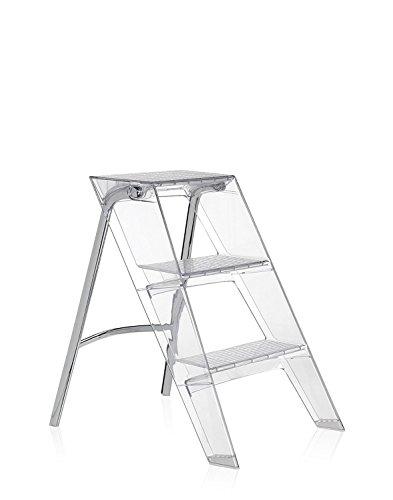 Kartell Upper Step Ladder - Transparent Crystal
