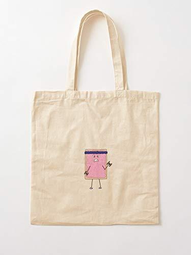 Food Poptart Workout Breakfast Gym Tote Cotton Very Bag | Bolsas de supermercado de lona Bolsas de mano con asas Bolsas de algodón duraderas