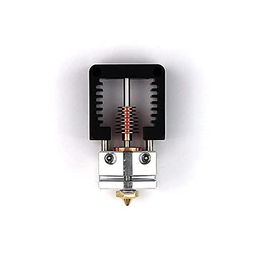 Vollmetall hotend, Alu/Kupfer hotend, für schnelle Drucke, V6 hotend Düse, z. B. Sidewinder X1 (Set 1 (24V))