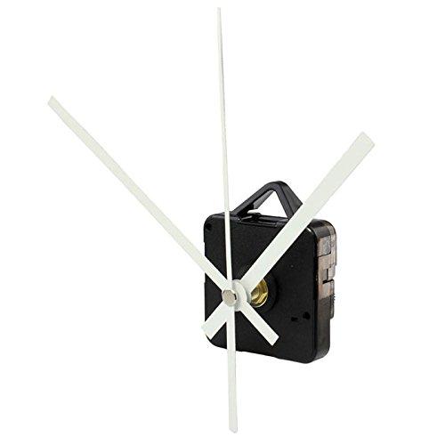 JenK Cing DIY Lautloses Funkuhr Quarz-Uhrwerk Uhrwerk für Wanduhr, zum Basteln, Funkuhr Teile Reparatur-Kit (55 x 55 x 16 mm)