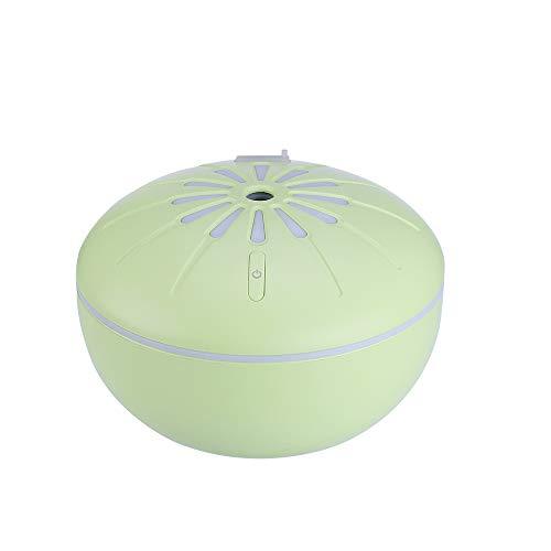 175ML Großraum-Luftbefeuchter Luftreiniger USB-Luftbefeuchter Ultraschall-Luftbefeuchter Stumme schwangere Frau Baby-Luftbefeuchter Flasche Luftbefeuchter heiße Quelle, empfindliche Luftbefeuchtung, Licht und kompakte bunte Nachtlicht Stummschaltung Luftbefeuchtung, Yoga, Schlafzimmer, Wohnzimmer, Konferenzraum (Grün)