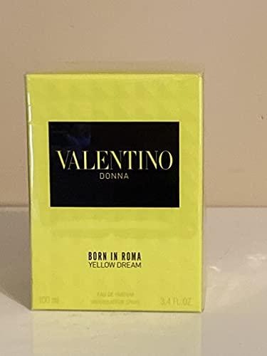 Valentino Donna Yellow Dream Born in Roma Eau De Parfum Spray For Women, 3.4 Ounce (New Launch 2021) (x-w2b-P770886845)