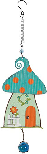Sunset Vista Designs Gnome Collection - Hanging Garden Bouncy, Blue, 15-inch Height