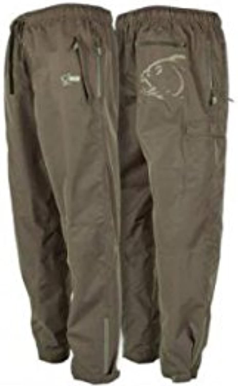 Nash Waterproof Trousers Regenhose Gre M