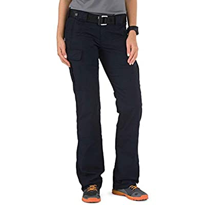 5.11 Tactical Women's Stryke Covert Cargo Pants, Stretchable Fabric, Gusseted Construction, Style 64421 Dark Navy