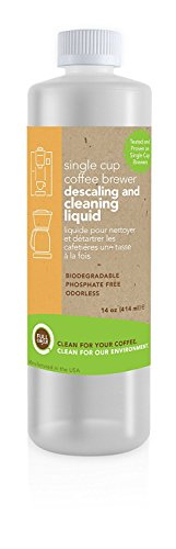 Urnex. Full Circle Single Cup Coffee Machine Cleaning and Descaling Liquid, 14oz Bottle (Limited Edition)