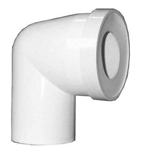 Régiplast - Coude WC 90° Mâle D.100 - NISPCM100