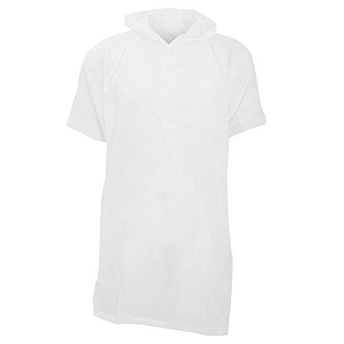 Veste de pluie poncho - Enfant (Taille unique) (Blanc)