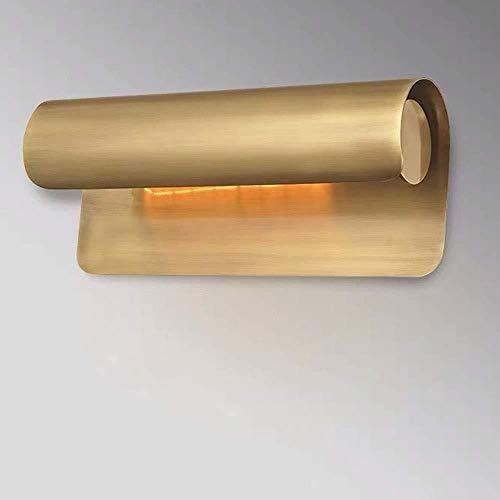 lámpara de pared Pared de la luz Luz Modelo moderno de la sala dormitorio baño completo pintados de Espejo de bronce Shine La lámpara de pared Faros 25 * 13 * 11 cm de interior iluminación