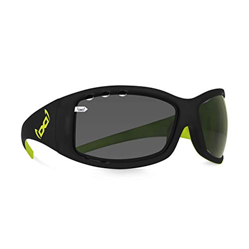 gloryfy unbreakable eyewear Gloryfy - Gafas de sol unisex irrompibles (G2 devil extreme Air), color negro y verde