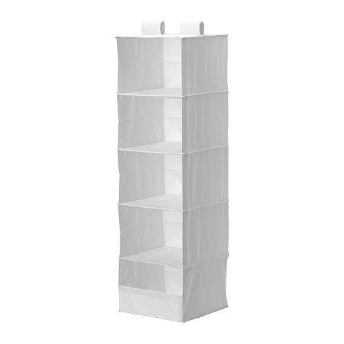 IKEA Hängeaufbewahrung SKUBB mit 5 Fächern in WEIß