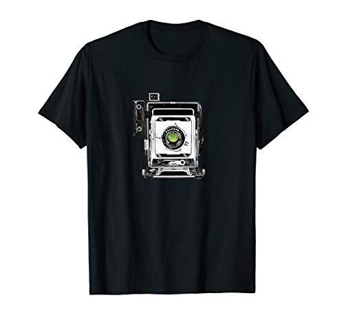 Large Format Vintage Press Camera T-Shirt