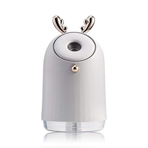 SKVVIDY Humidificador Humidificador de Aire Lindo inalámbrico USB Aroma ultrasónico Difusor de Aceite Esencial 800mAh Batería incorporada Batería Recargable Niebla de Niebla Humidificador Coche