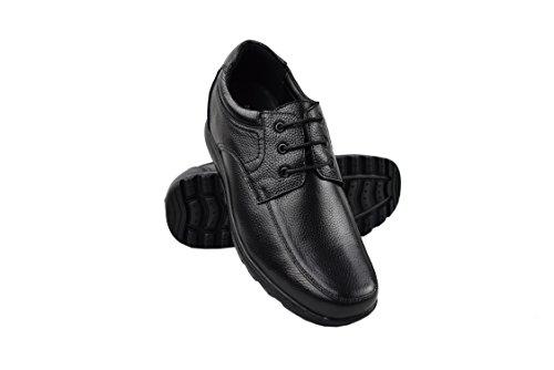 Zerimar Zapatos con Alzas Interiores para Caballeros Aumento +7 cm | Zapatos...