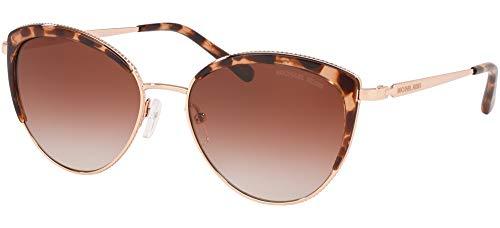 Michael Kors dames 0MK1046 zonnebril, meerkleurig (rose goud), 56
