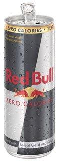 Red Bull Zero Calories Energy Drink, Dose - 250ml - 4x