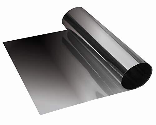 Foliatec 1710 SUNVISOR REFLEX Blendstreifen: Schutz und stylischer Farbverlauf, 20 x 150 cm, Schwarz