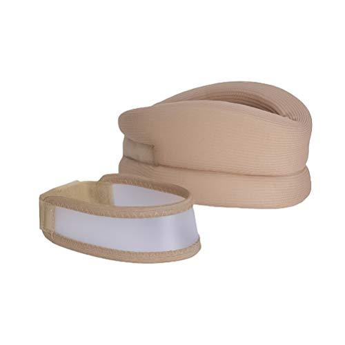 Healifty soporte para el cuello collarín cervical ajustable envoltura para el cuello abrazadera cálida para niños adultos dolor de cuello rígido recuperación de lesiones tamaño xl