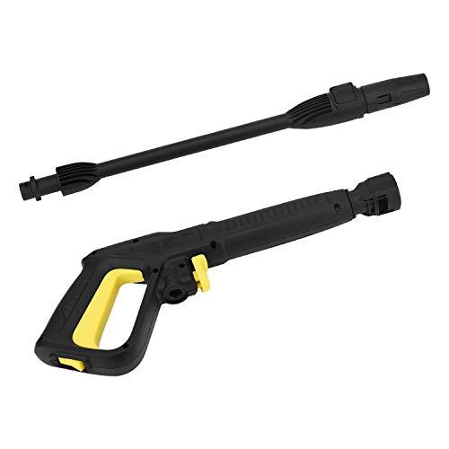 MoPei Pistola de Gatillo de Conexión Rápida Lavadora a Presión para Karcher Desde 2009 con Sistema de Conexión Rápida 150 Bar Pistola de gatillo conexión rápida