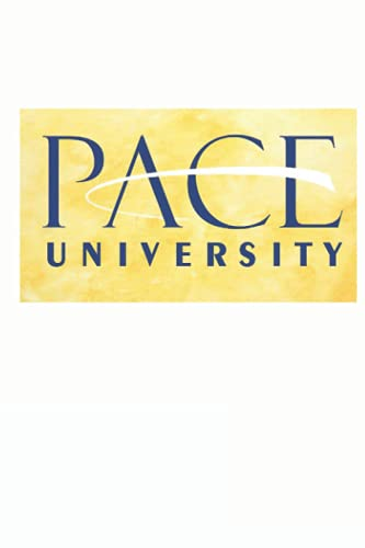 Pace University Notebook: Water Color - Letter Size 6 x 9 inches, 110 wide ruled pages.