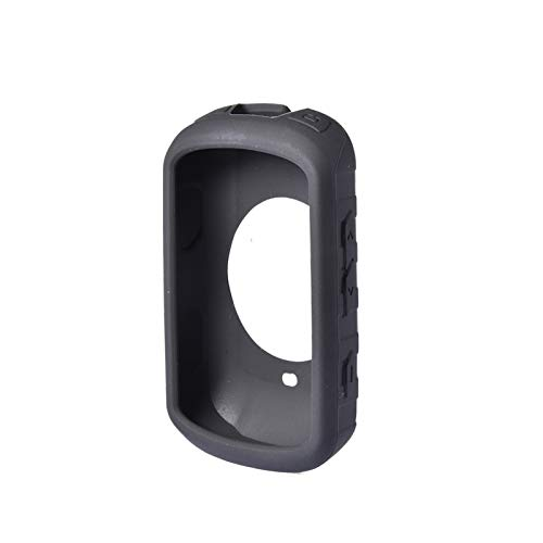 XUEMEI Funda de Silicona para Garmin Edge 530 Smart Watch Cubierta Protectora para Garmin Edge 530 Protector Case Accesorios (Color : Black)