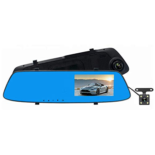 WiGizmo 4.3 Inch Full HD 1080P Vehicle Blackbox Car DVR 4.3 inch Touch Screen
