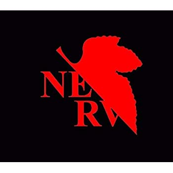 NERV Neon Genesis Evangelion Manga Anime Vinyl Sticker Decal Car Laptop Window