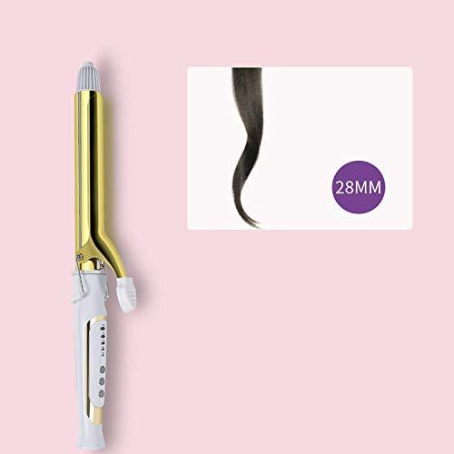 Varilla para rizar el cabello wangZJ/cerámica de turmalina/bobina eléctrica doméstica de varilla grande/rizador de permanente profesional / 28mm