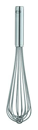 Rösle Gastro Rührbesen, hochwertiges Rührgerät mit stabilem Rundgriff für Gastronomie, Edelstahl 18/10, Spülmaschinengeeignet, Länge 35 cm