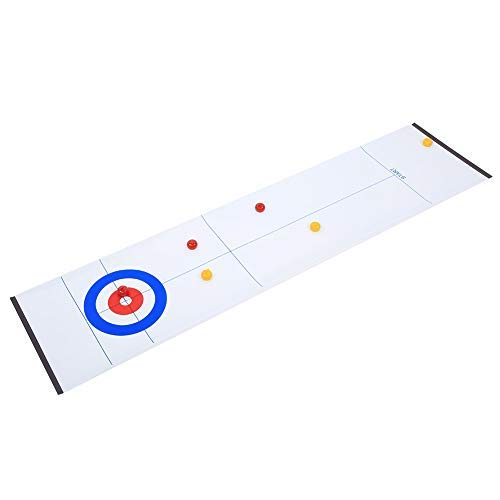 Buy Bargain ROSEBEAR Table Curling Toy, Board Game, for Families Interactive, Curling Training