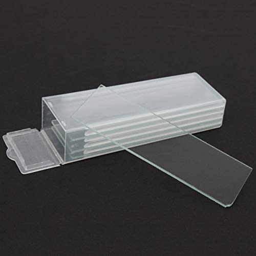 Tool 5pcs Single Concave Microscope Glass Slides Reusable Laboratory Blank 1mm