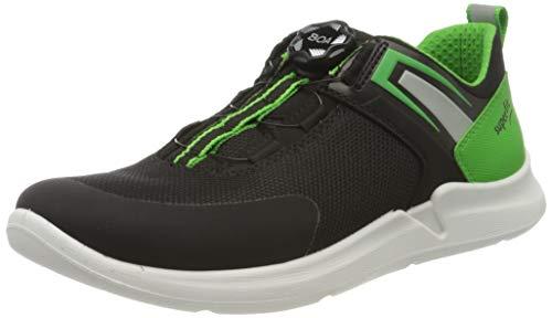 Superfit Thunder Sneaker, SCHWARZ/GRÜN, 33 EU